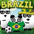 ブラジルで3パンダ